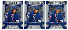 MARC STAAL 2007-08 OPC #572 Marquee Rookie RC Mint lot Rangers O Pee Chee