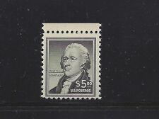 #1053, $5 Hamilton, Mint Fine, Never Hinged