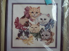 Something Special Cats and Bows Counted Cross Stitch Kit