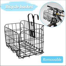 AU Bicycle Quick Release Bike Basket for Front Rear Extra Storage Bike Baskets