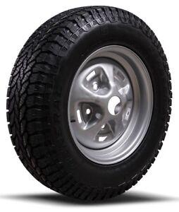 "Original Genuine Land Rover Range Rover Classic Rostyle 16"" Steel Wheels & Tyres"