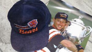 1989 Payne Stewart PGA Championship Match Used Worn Chicago Bears Hat! Trophy