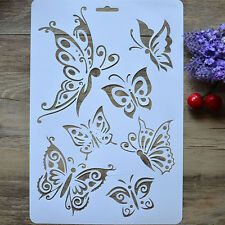 DIY Craft Butterfly Stencils Template Painting Scrapbooking STAMPS Album