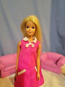 1970 Malibu Francie Doll- Casey Head Mold- w Original 1960s Francie Outfit- GC