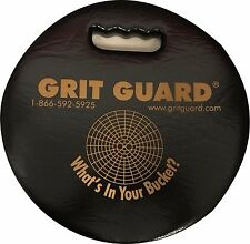 "Grit Guard 12"" Round Bucket Seat Cushion GGSEATBLACKP"