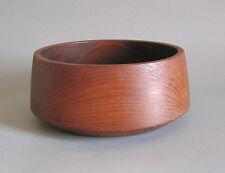 Teakholz Schale 24cm Mid Century Design Teak Holz Quistgaard Bojesen Aera Bowl
