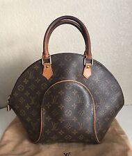 Authentic Louis Vuitton Monogram Ellipse MM Satchel Bag Handbag