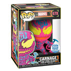 Funko Pop! Marvel Black Light Carnage #678 Funko Shop Exclusive Gift W/Protector For Sale