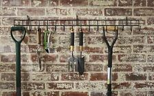 Extra Long Wall Mounted Garden Tool Storage Rack Hook Holder Organiser Tidy Rail