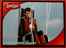 CAPTAIN SCARLET - Card #14 - A Fatal Bullet Wound - Cards Inc. 2001