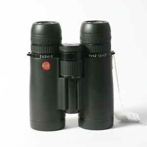 Leica 8-12x42 Duovid Binoculars - Black