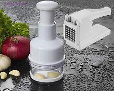 Cippatrice di patate patatine fritte AFFETTATRICE verdure e cipolla Chopper Chip PERFETTO