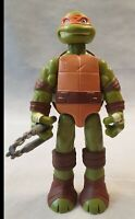 "TMNT Michelangelo 11"" Action Figure with Weapon Teenage Mutant Ninja Turtle 2016"