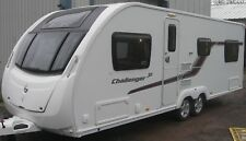 SWIFT CHALLENGER SE 6 BERTH WITH FIXED BED TWIN AXEL 2013 SUPERB