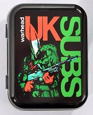 UK SUBS WARHEAD SOLDIER CHARLIE HARPER PUNK ARMY 1977 TOBACCO TIN MINTS PILL