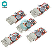 5PCS DC 9V 12V 24V to 5V 3A CAR Buck USB Charger Module Step Down Converter DIY
