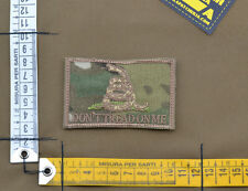 "Ricamata / Embroidered Patch ""Dont Tread On Me"" Multicam with VELCRO® brand hook"