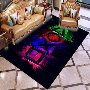 3D NEW Gamer Playstation Custom Rug Doormat WC Bedroom Floor Mat Carpet