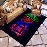 3D NEW Gamer Video Games Black Rug PlayStation Doormat Door Floor Mat Carpet