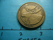 MOOSE NRA NATIONAL RIFE ASSOCIATION COLLECTORS SERIES BRONZE COIN NICE V6