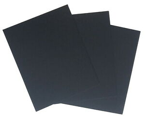 Crescent Acid-Free Mat Board, 11 x 14 Inches, Black, Pack of 40