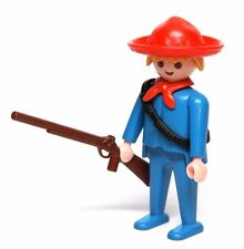 Playmobil Figure Western Stagecoach Driver w/ Sombrero Ammo Belt Rifle 4431