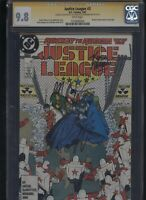 Justice League #3 CGC 9.8 3x SS Giffen & DeMatteis & Maguire 1987