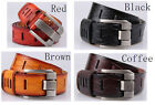 Fashion man men's real genuine leather pin buckle cowboy belts belt strap