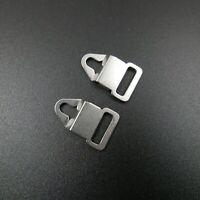 2 Pcs  Belt Strap Clips Lugs Adapter Mamiya M645 Pentacon Six Kowa Six Bronica