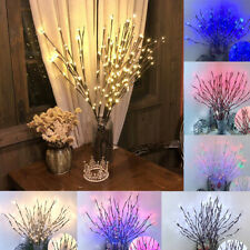 Willow Floral Tree Branch Lights Party Home Holiday Birthday Decoration Lamp