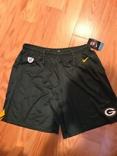 Nike NFL Training Short Greenbay Packers XXL BNWT Equipment 836602-323 Green