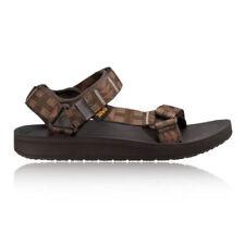 Sandali e scarpe Teva marrone sintetico per il mare da uomo