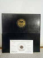 World Reserve Monetary Exchange Navy Presidential Coin Dollar Album Book w coin