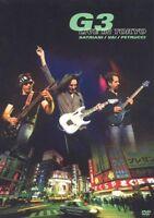 """G 3 """"LIVE IN CONCERT"""" DVD SATRIANI VAI PETRUCCI NEU!!!"""