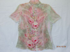 Seven Sisters Hand-wash Only Floral Tops & Blouses for Women