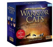 Warrior Cats - Die Macht der drei. Folge 1-6 von Erin Hunter (2014)