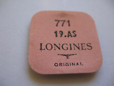 LONGINES 19AS,19A,19ASD,19AD AUTOMATIC MAINSPRING PART 771 NEW WITH TAGS