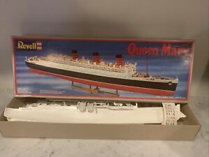 Revell Queen Mary Ocean Liner Model - 1/568  -  New 2 Missing Pieces