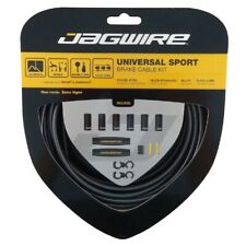Jagwire Universal Sport Mountain or Road Bike Brake Cable and Housing Set Black