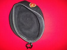 Us Army 25th Infantry Division Black Wool Beret Fits Head Size 7