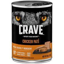 Crave Chicken Paté Dog Food 12.5 oz Can