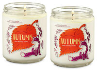 AUTUMN Single Wick Scented Candle 2 pack 7 oz. Each