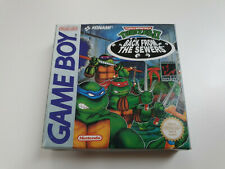 Turtles 2 Back From the Sewers - Gameboy Classic - ASI - GB CIB