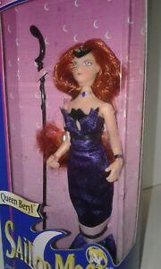"SAILOR MOON ADVENTURE DOLL Queen Beryl  6"" Poseable"