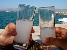 Greek Ouzo from Crete island - 200ml traditional alcoholic drink