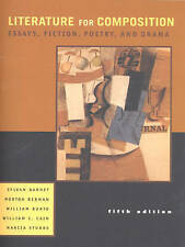 Literature for Composition: Essays, Fiction, Poetry, and Drama (5th Edition)