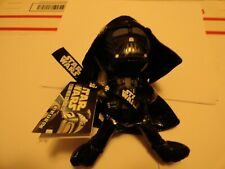"""Star Wars Darth Vader Galerie Plush Stuffed Shiny 8.5"""" Tall Figure 2011"""