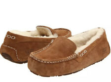 UGG Ansley Chestnut Women's Suede Indoor Outdoor Moccasin Slippers  Size 6 New
