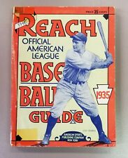 1935 Reach's Official Baseball Guide American League Lou Gehrig New York Yankees
