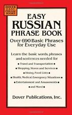 Easy Russian Phrase Book: Over 690 Basic Phrases f